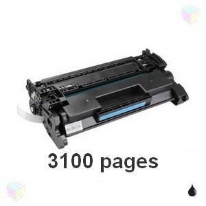 HP CF226A 26A Toner HP Compatible 3100 pages